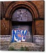 Now Graffiti Canvas Print