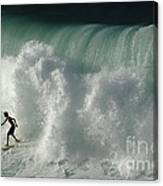 Nowhere To Hide Nowhere To Swim Canvas Print