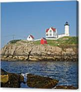 Nubble In The Day 16x20 Canvas Print