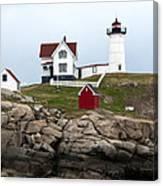 Nubble Lighthouse Cape Neddick Maine 4 Canvas Print