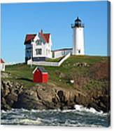 Nubble Lighthouse One Canvas Print