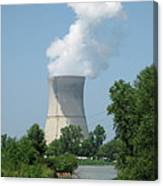 Nuclear Energy And Environment Canvas Print