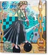 Nuclear Japan Canvas Print