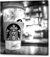 Nuclear Starbucks Canvas Print