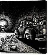Nuclear Truck Canvas Print