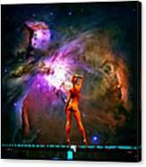 Nude Amongst The Stars 3... Canvas Print