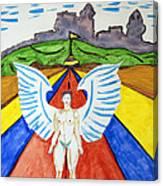 Nude Angel Road Canvas Print