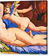 Nude Art Painting Canvas Print