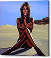 Nude Beach Beauty Canvas Print