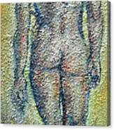Nude Brunet Canvas Print