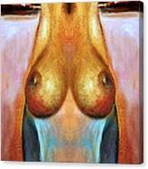 Nude Colorado Series Canvas Print