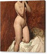 Nude From The Front Canvas Print