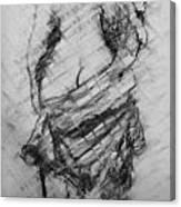 Nude Lady Canvas Print