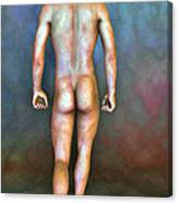 Nude Male With Blemishes Canvas Print