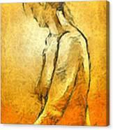 Nude Viii Canvas Print