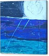 Nuestra Luna Canvas Print