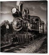 Number 4 Narrow Gauge Railroad Canvas Print