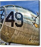 Number 49 Canvas Print