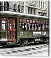 Number 965 Trolley Canvas Print