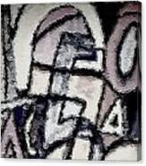 Numberslav1 Canvas Print