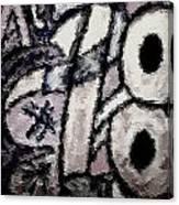 Numberslav3 Canvas Print