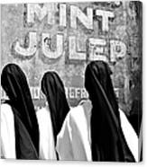 Nun Of That Canvas Print