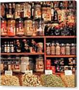 Nut Shop Canvas Print