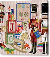 Nutcracker And Friends Canvas Print