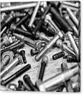 Nuts And Bolts Canvas Print
