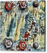 Nuts And Rivets  Canvas Print