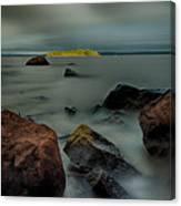 Nuttall Island Last Sunlight Canvas Print