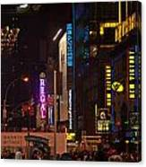 Nw 42nd Street  Canvas Print