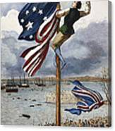 Ny: British Evacuation Canvas Print