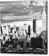 Ny Skyline Light And Shadows Canvas Print
