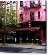 Ny Streets - Cafe Borgia II Soho Canvas Print
