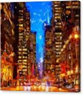 Nyc 4 Canvas Print