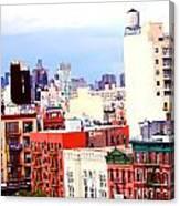 Nyc Bridge View Canvas Print