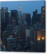 Nyc Chrysler Building Canvas Print