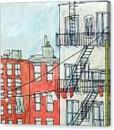 1st Ave Canvas Print