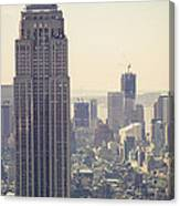 Nyc - Empire State Building Canvas Print