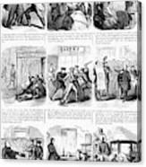 Nyc Police, 1859 Canvas Print