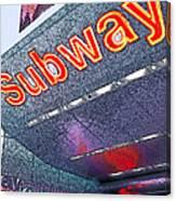 Nyc Subway Canvas Print