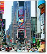 New York City Times Square Canvas Print