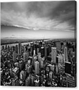 Nyc Uptown Canvas Print