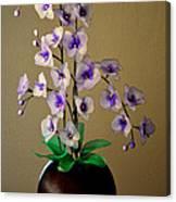Nylon Stocking Orchid Canvas Print