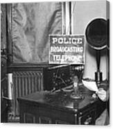 Nypd Radio Station, Wlaw Canvas Print