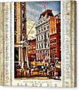 Nyse 1882 Canvas Print