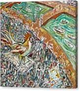 O Galo Da Madrugada Canvas Print