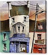 O Heagrain Pub, Viewed 21,339 Times Canvas Print