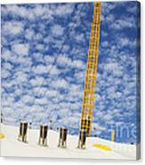 O2 Arena Roof London Canvas Print